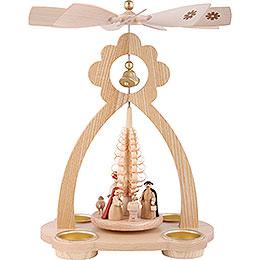 1 - stöckige Glockenpyramide Christi Geburt  -  29cm