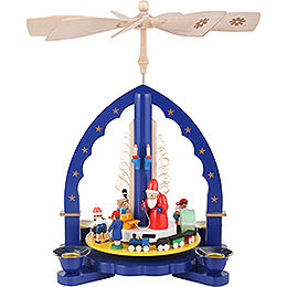 1 -  tier Pyramid The Giving  -  blue  -  11 inch  -  27cm
