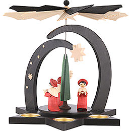 1 - tier pyramid Carolers  -  27cm / 10,5inch