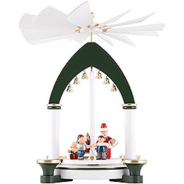 1 - tier pyramid Christmas Eve  -  30cm / 11.8inch