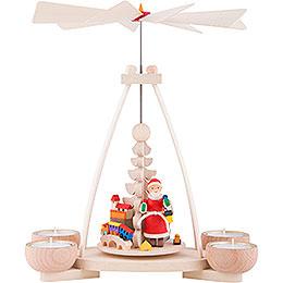 1 - tier pyramid Santa Claus  -  23cm / 9.8inch