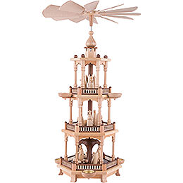 3 - Tier Pyramid  -  Nativity  -  67cm / 26 inch