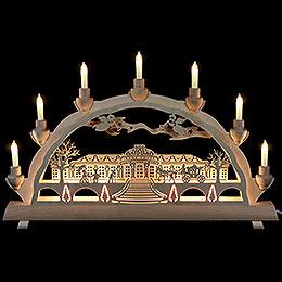3D  -  Double Arch  -  Sanssouci Palace  -  50cmx32cm / 16.7x12.6inch