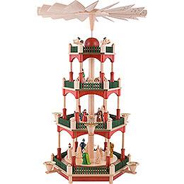 4 - stöckige Pyramide Christi Geburt  -  53cm