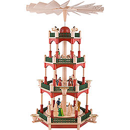 4 - tier pyramid Nativity  -  53cm / 20.9inch