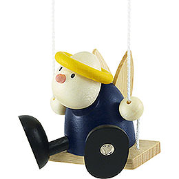 Angel Hans on swing  -  7cm / 2.8inch