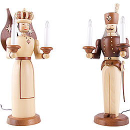 Angel and Miner  -  electrical 120 Volt (US - Standard)  -  40cm / 16 inches