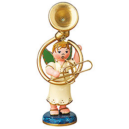 Angel boy with sousaphone  -  6,5cm / 2,5inch