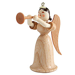 Angel long skirt with trombone, natural  -  6,6cm / 2.5inch