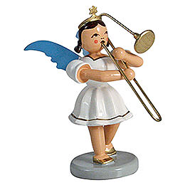 Angel short skirt colored, slide trombone  -  6,6cm / 2.5inch