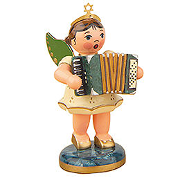 Angel with Accordion 6,5cm / 2,5inch