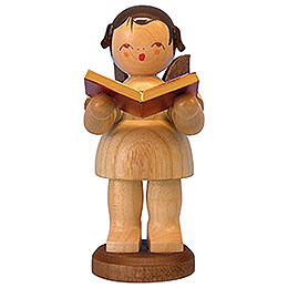 Angel with Book  -  Natural Colors  -  Standing  -  9,5cm / 3,7 inch