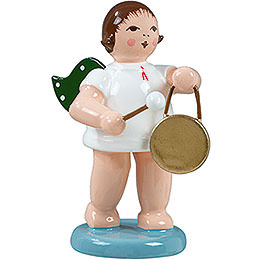 Angel with Gong  -  6,5cm / 2.5 inch