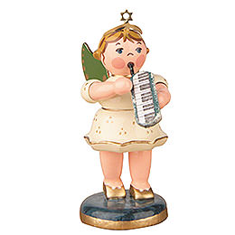 Angel with Melodica  -  6,5cm / 2,5 inch