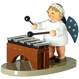 Angel with Xylophone  -  5cm / 2 inch