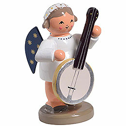 Angel with banjo  -  5m / 1inch