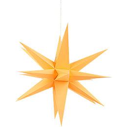 Annaberg Folded Star Orange  -  35cm / 13.8 inch