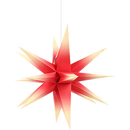 Annaberg folded star red - yellow  -  58cm / 22.8inch