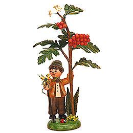 Autumn Child Berry Baby Bird  -  13cm / 5 inch