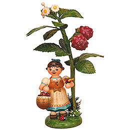 Autumn child raspberry  -  13cm / 5inch