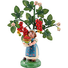 Autumn kids figure of the year 2016 red currant  -  13cm / 5.1inch