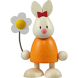 Bunny Emma with flower   -  9cm / 3.5inch