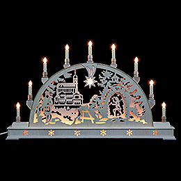 Candle Arch  -  Annaberg Church with base  -  78cm x 45cm / 31 x 18 inches