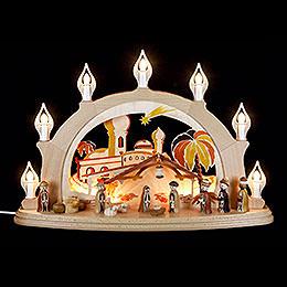Candle Arch  -  Nativity  -  58x39cm / 23x15 inch