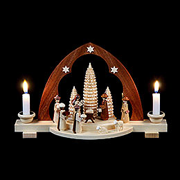 Candle Arch  -  Nativity scene  -  30cm / 12 inch