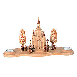 Candle Holder Church of the Lady  -  16cm / 6 inches