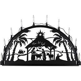 Candle arch for outside Nativity  -  100 - 300cm / 40 - 120inch