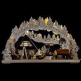 Candle arch home decoration  -  72x43cm / 28.3x17inch