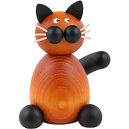 Cat Bommel sitting  -  7cm / 2.8inch
