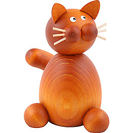 Cat Charlie sitting  -  7cm / 2.8inch