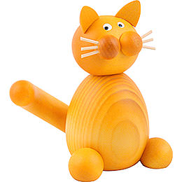 Cat Emmi sitting  -  7cm / 2.8inch