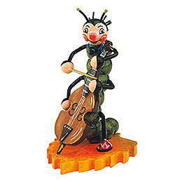 Caterpillar with Contrabass  -  8cm / 3 inch