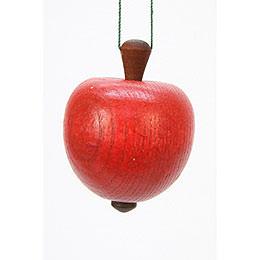 Christbaumschmuck Apfel  -  4,0 / 5,3cm