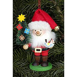 Christbaumschmuck Strolch Weihnachtsmann  -  10,5cm