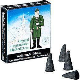 Crottendorfer R�ucherkerzen  -  Weihnachtlicher Weihrauch  -  Minis
