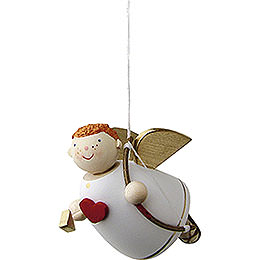Cupid floating  -  3,5cm / 1.3inch