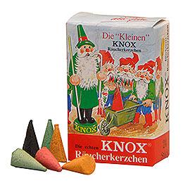 """Die """"Kleinen"""" KNOX - Räucherkerzen  -  Mix  -  24 Stück  -  Mini"""