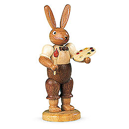 Easter bunny painter (male)  -  11cm / 4 inch