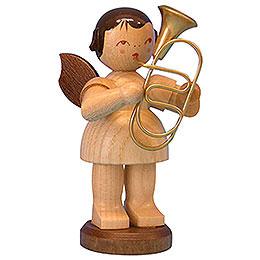 Engel mit Bariton  -  natur  -  stehend  -  9,5cm