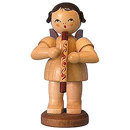Engel mit Didgeridoo  -  natur  -  stehend  -  9,5cm