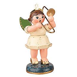 Engel mit Posaune  -  6,5cm