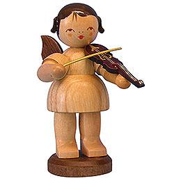 Engel mit Violine  -  natur  -  stehend  -  9,5cm