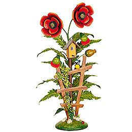 "Flowers insulare ""poppy""  -  24cm / 9,5inch"