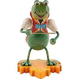 Frog bandmaster  -  8cm / 3.1inch