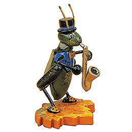 Grille mit Saxophon  -  8cm