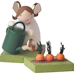 Guardian angel with watering can  -  3,5cm / 2inch / 1.4inch